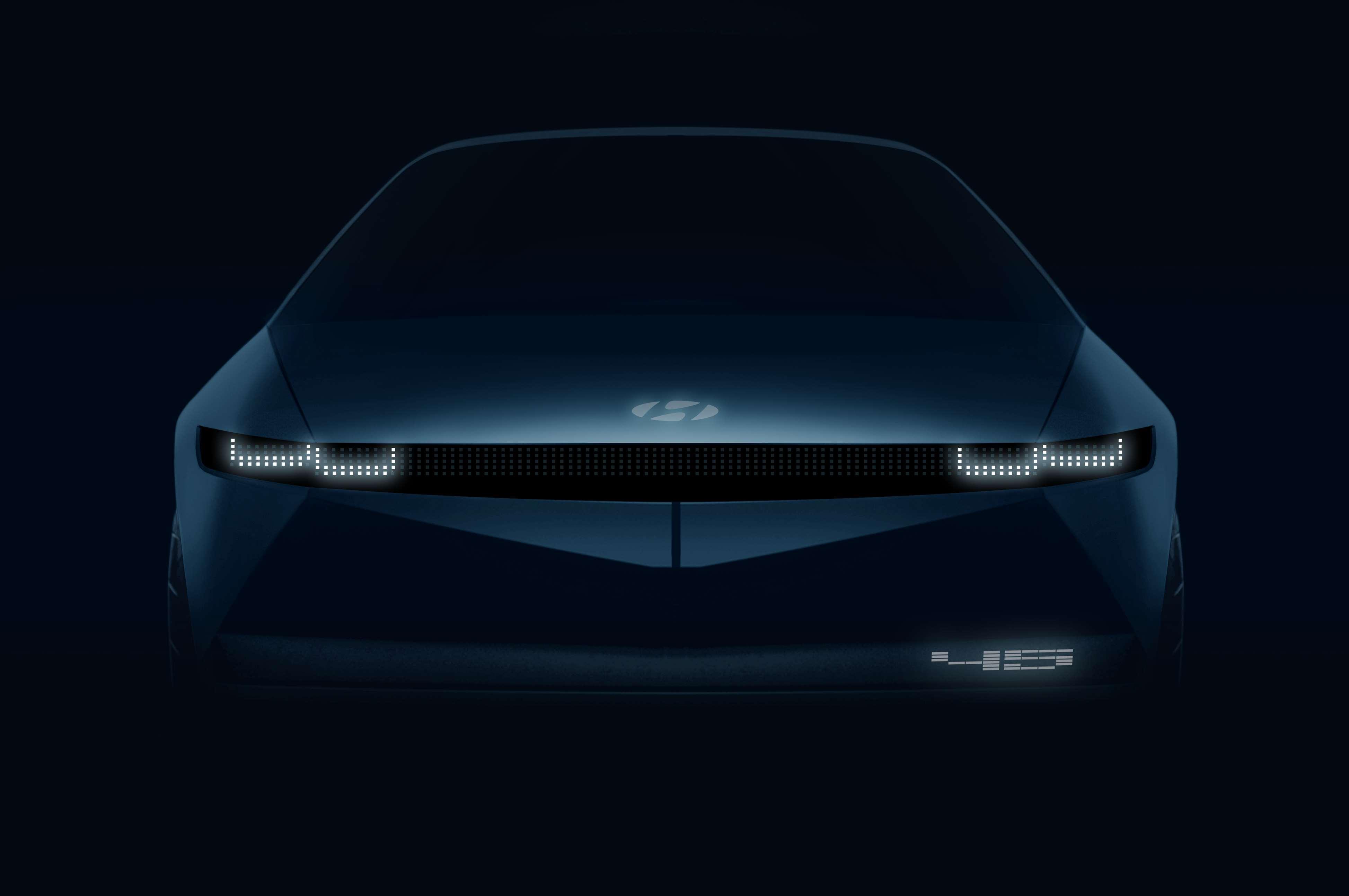 Hyundai predstaví nový elektrický koncept 『45』
