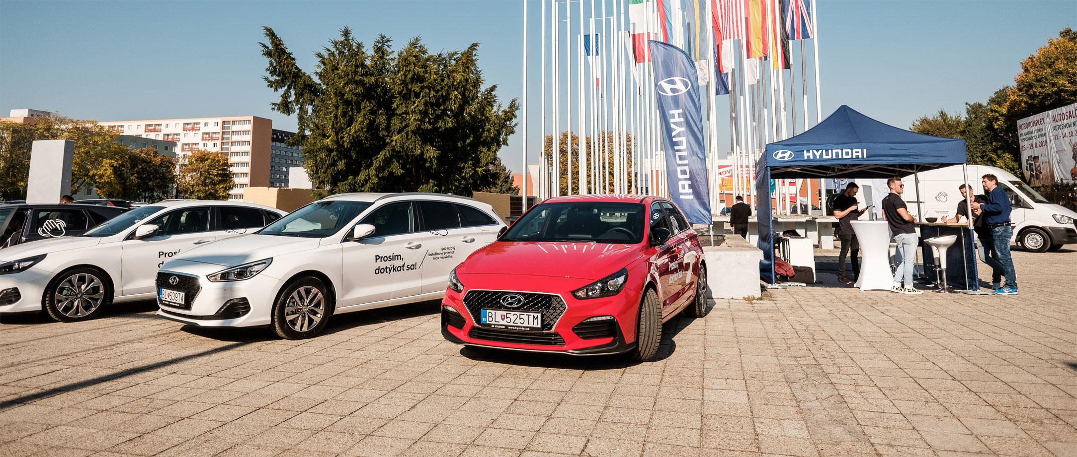 Hyundai na autosalóne vNitre sdvoma premiérami a florbalovým ihriskom