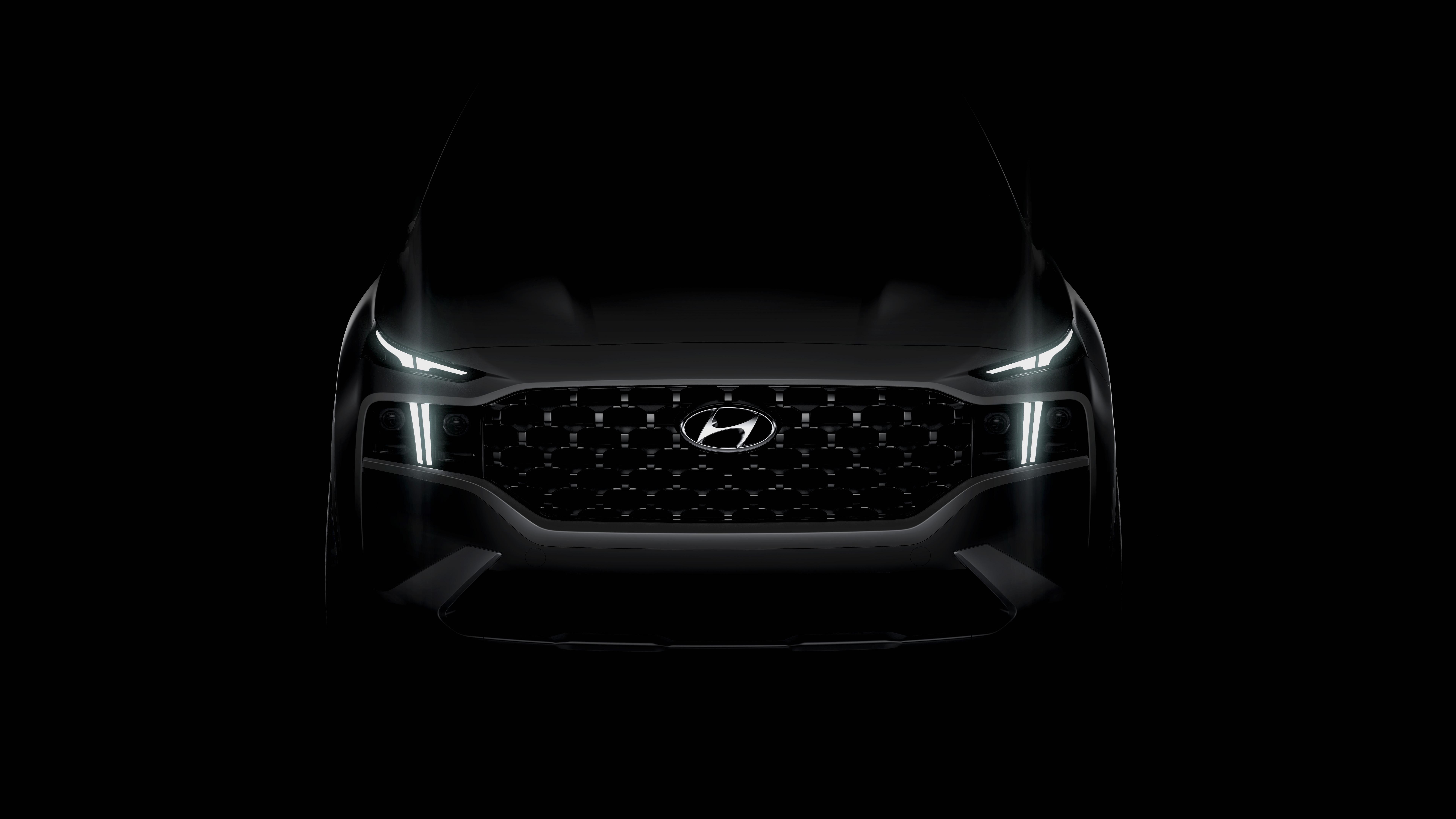 Prvý pohľad na nový Hyundai Santa Fe. Príde aj ako hybrid a plug-in hybrid.