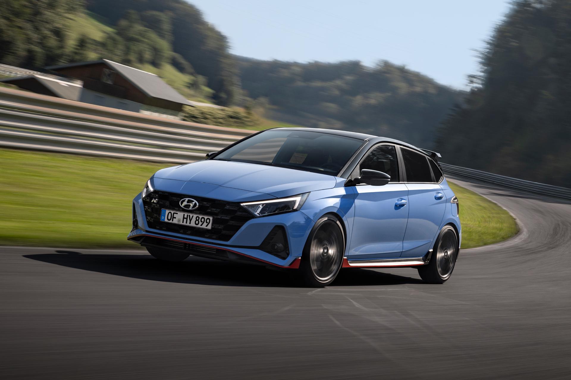 Milovník zákrut: Hyundai predstavuje nový model i20 N