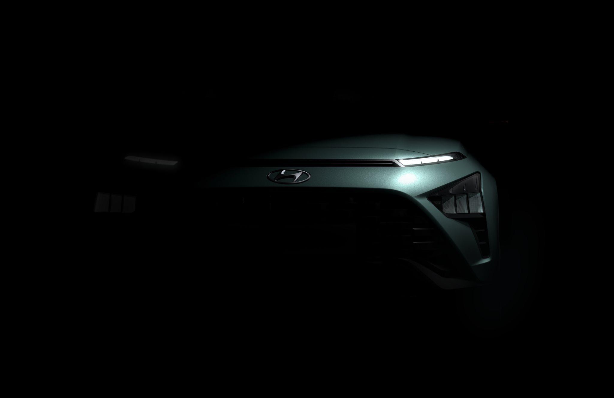 Hyundai poodhaľuje dizajn svojho úplne nového crossoveru Bayon