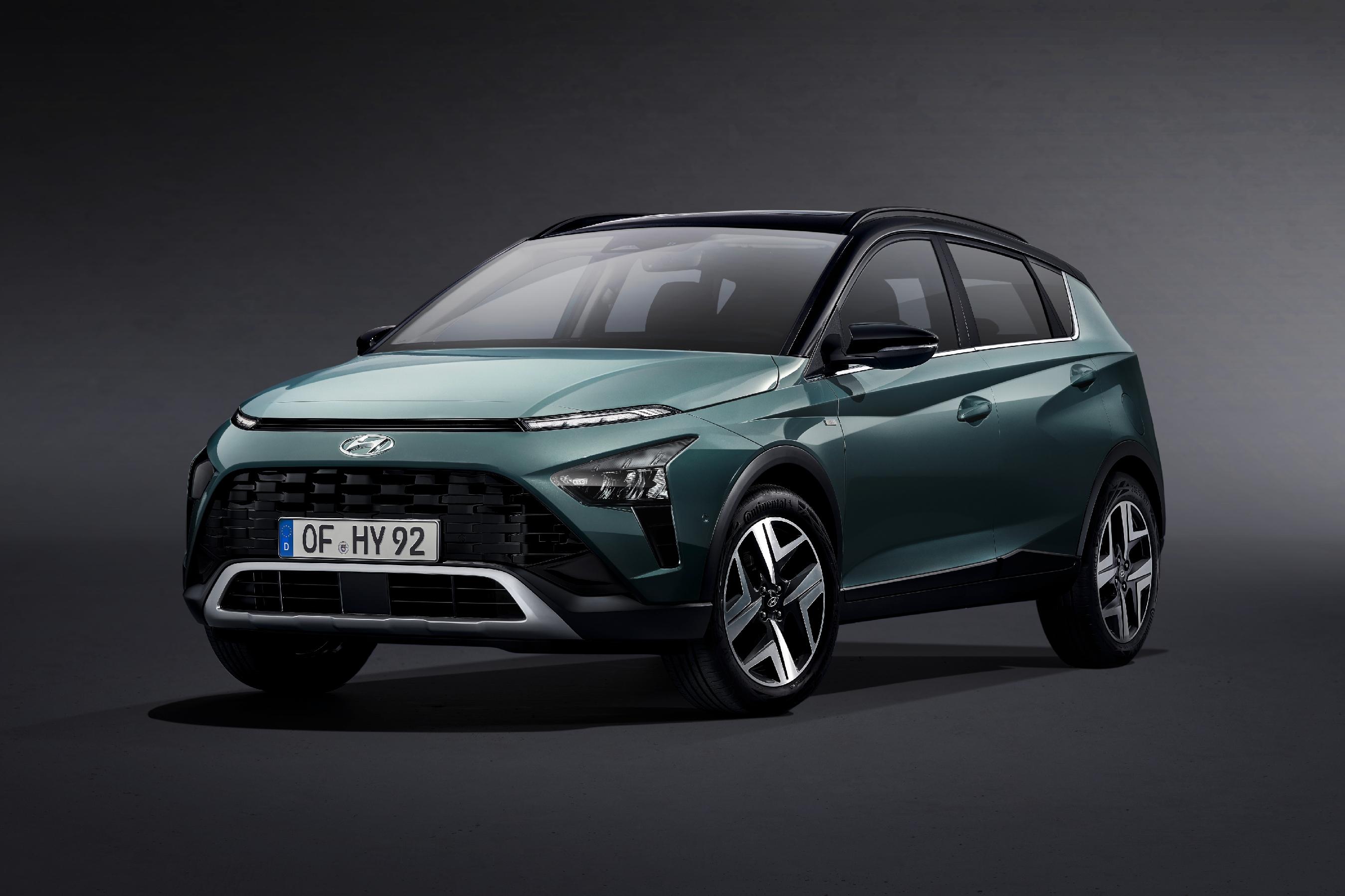 Hyundai predstavuje nový model BAYON, štýlové a uhladené crossover SUV
